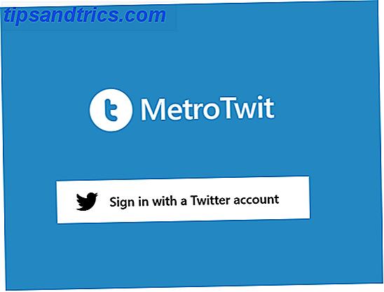 Quelle est la meilleure façon d'utiliser Twitter sur Windows 8?  Je vous recommande de donner un tour à MetroTwit.  La version Windows 8 de MetroTwit est gratuite, ne contient aucune publicité et est facile à utiliser.