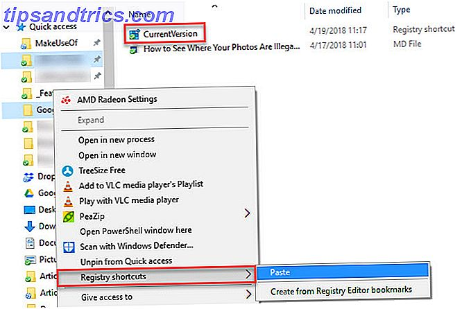 Windows Registry Shortcuts