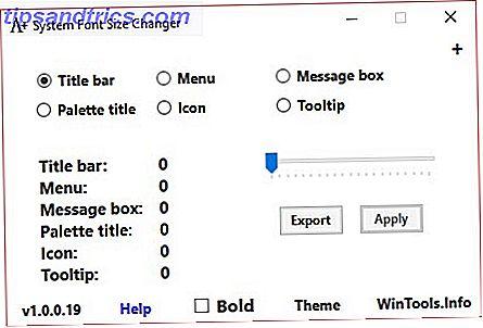 La taille de police par défaut de Windows 10 est-elle trop petite pour vous?  Nous vous montrerons comment ajuster la taille du texte de votre système à votre goût, ainsi que la façon de changer la police Windows par défaut.