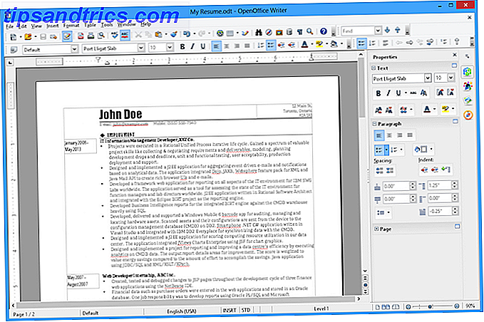 8 App di Windows Open Source gratuite utilizzate per essere scrittori openoffice proprietari