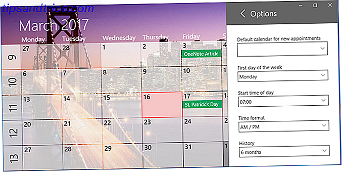 eine Kalender-Windows-App