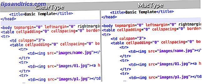Sådan får du Mac eller Linux-lignende skrifttypegengivelse på Windows