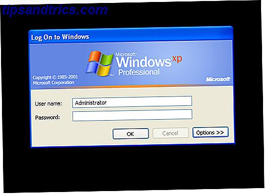 Avez-vous redécouvert un ancien ordinateur Windows XP, mais vous ne pouvez pas vous connecter?  Nous allons vous montrer comment réinitialiser le mot de passe administrateur.