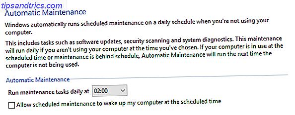 Automatisk vedligeholdelse er en standard Windows-funktion, der ikke er uden fejl.  Jeg viser dig, hvordan du deaktiverer Automatisk vedligeholdelse i Windows 10 og hvordan du selv styrer processerne.