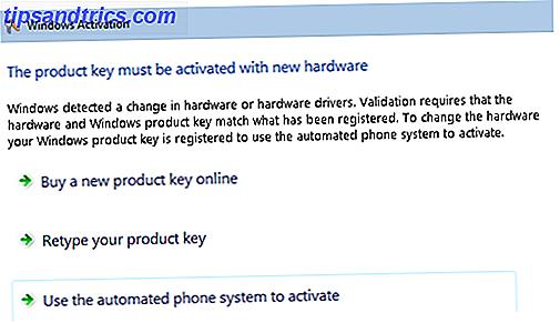 Votre période d'activation a expiré.  Vous devez activer Windows.  Déclenché par une mise à niveau matérielle ou suite à une nouvelle installation, c'est la façon de Microsoft de vous assurer que vous utilisez Windows conformément à ses termes de licence.