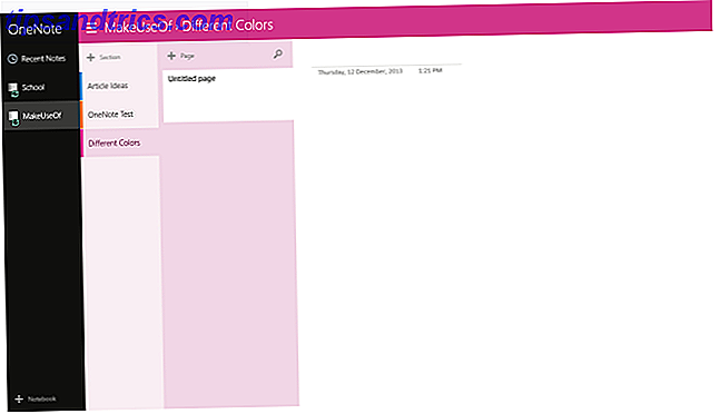 L'application de prise de notes moderne parfaite: OneNote pour Windows 8