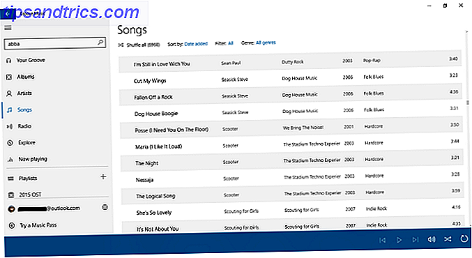 Vidste du, at Groove Music har flere gode værktøjer til styring og lytte til dine lokalt sparede musikbiblioteker?  Vi fremhæver de bedste funktioner i forhold til konkurrerende værktøjer.