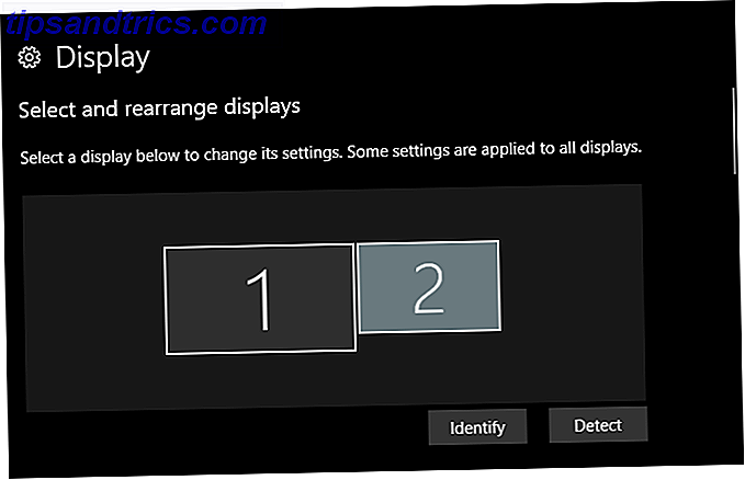 più schermi windows 10 - display identifica