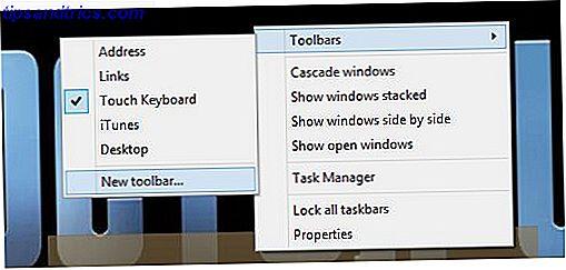 Crea un menu di avvio personalizzato di Windows 8 utilizzando le barre degli strumenti